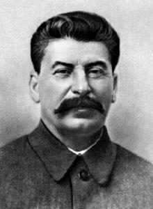 Josef Stalin, no friend to artists