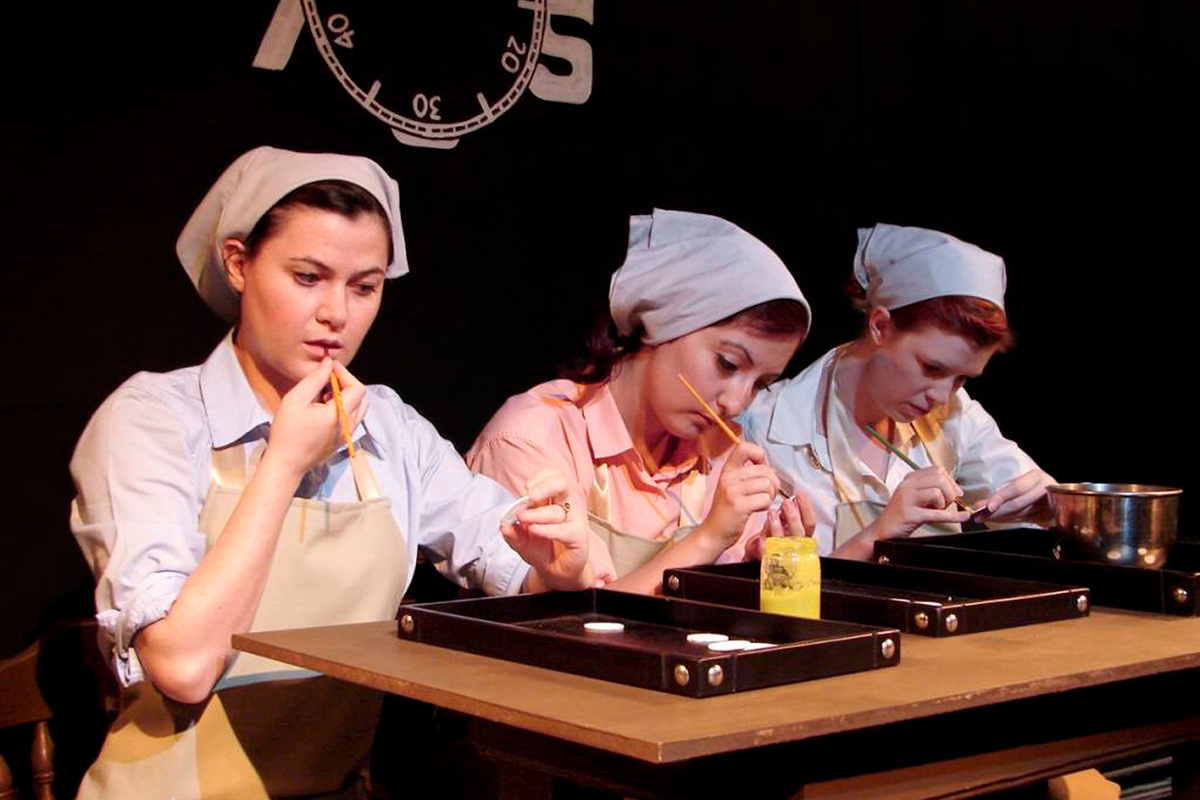 Radium Girls Closes Sellout Run at Mana Little Theatre